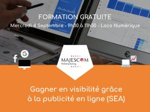 Formation : Gagner en visibilité avec la pub en ligne (SEA)