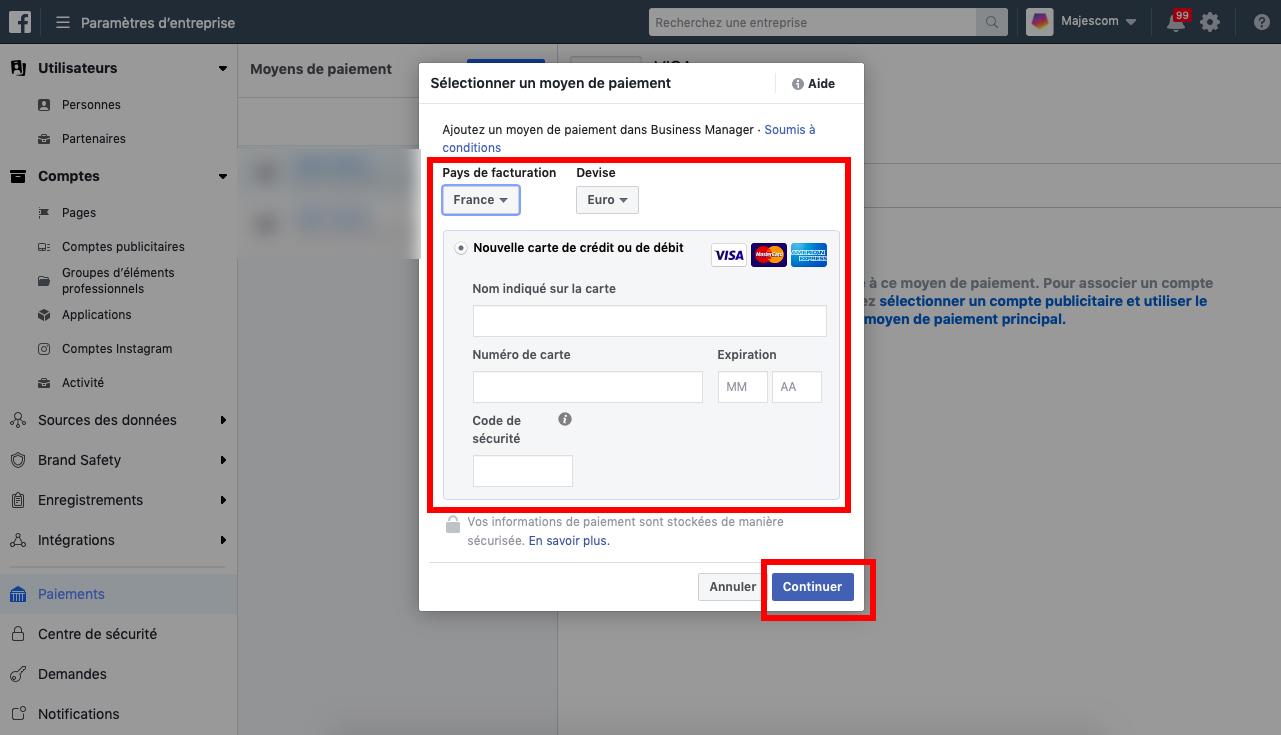 facebook Ans etape 3