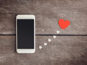 Communication digitale pour la Saint Valentin