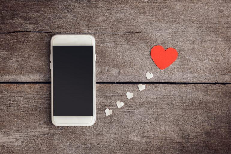 saint valentin reseaux sociaux