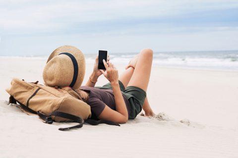 vacances communication reseaux sociaux