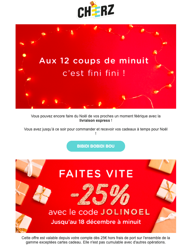 campagne-emailing-noel-cheerz
