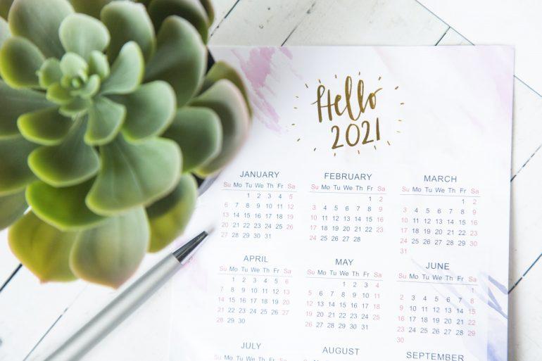 calendrier marronniers 2021