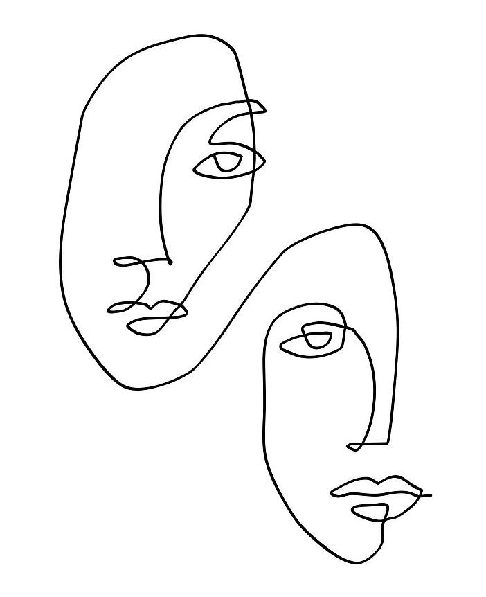 visages-lignes-tendances-créatives