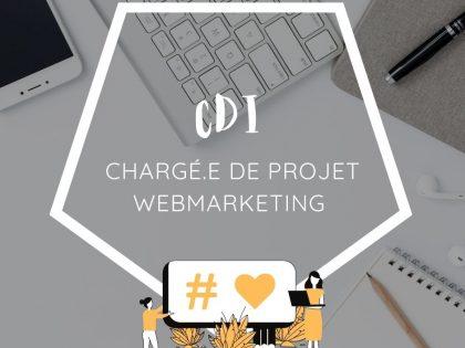 Chargé.e de projet webmarketing – CDI – La Roche sur Yon